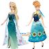 "Muñecas Elsa y Anna de ""Frozen Fever"" (Mattel)"