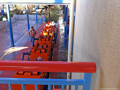 California Screamin' DCA Disney Adventure single rider bridge