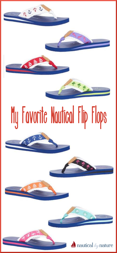 Nautical by Nature | My favorite Palm Island flip flops