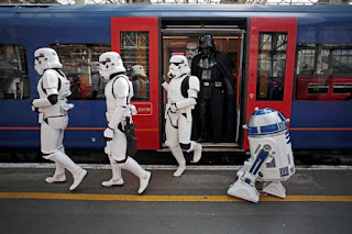 viajar en tren en Londres