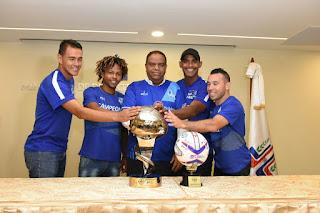 Ministro de Deportes recibe a los Campeones de la LDF