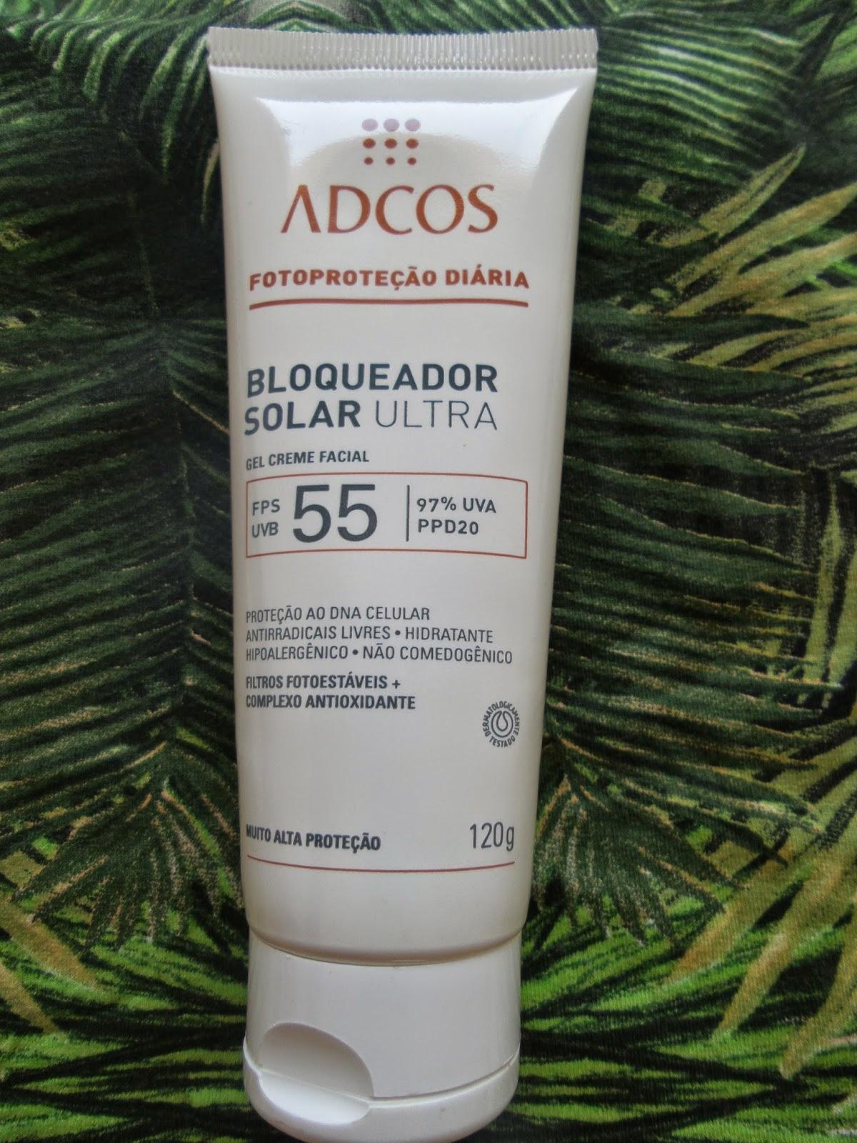 Bloqueador Solar Ultra FPS 55 Adcos