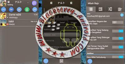 FREE BBM Mod Gray Tema Bejo Apk Terbaru V2.8.0.21