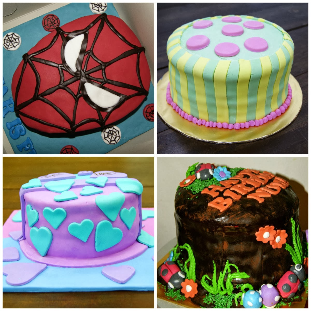 Customize Fondant Cake