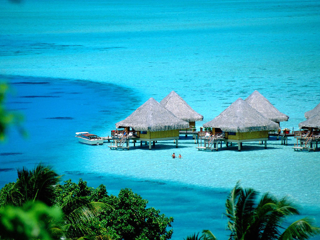 Information Hub Of Besties.: Bora Bora Island Paradise Images