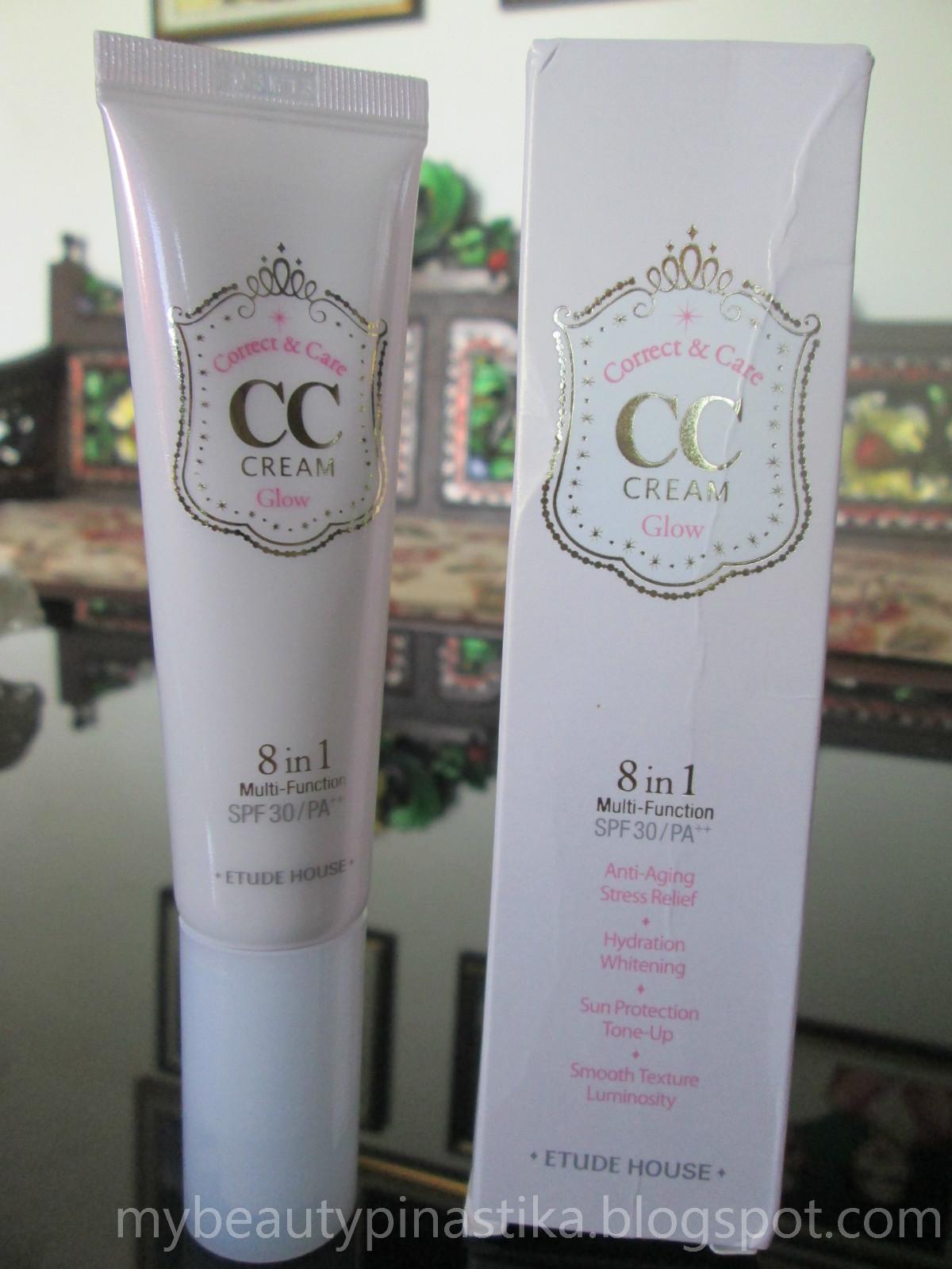 Pinastika Beauty Blog Etude House Cc Cream 02 Glow