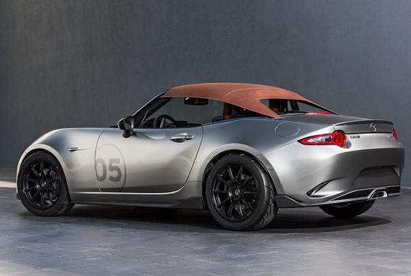 Mazda presentó los MX-5 Spyder y Speedster