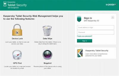 Kaspersky Tablet Security, una solución hecha para proteger las tabletas con Android