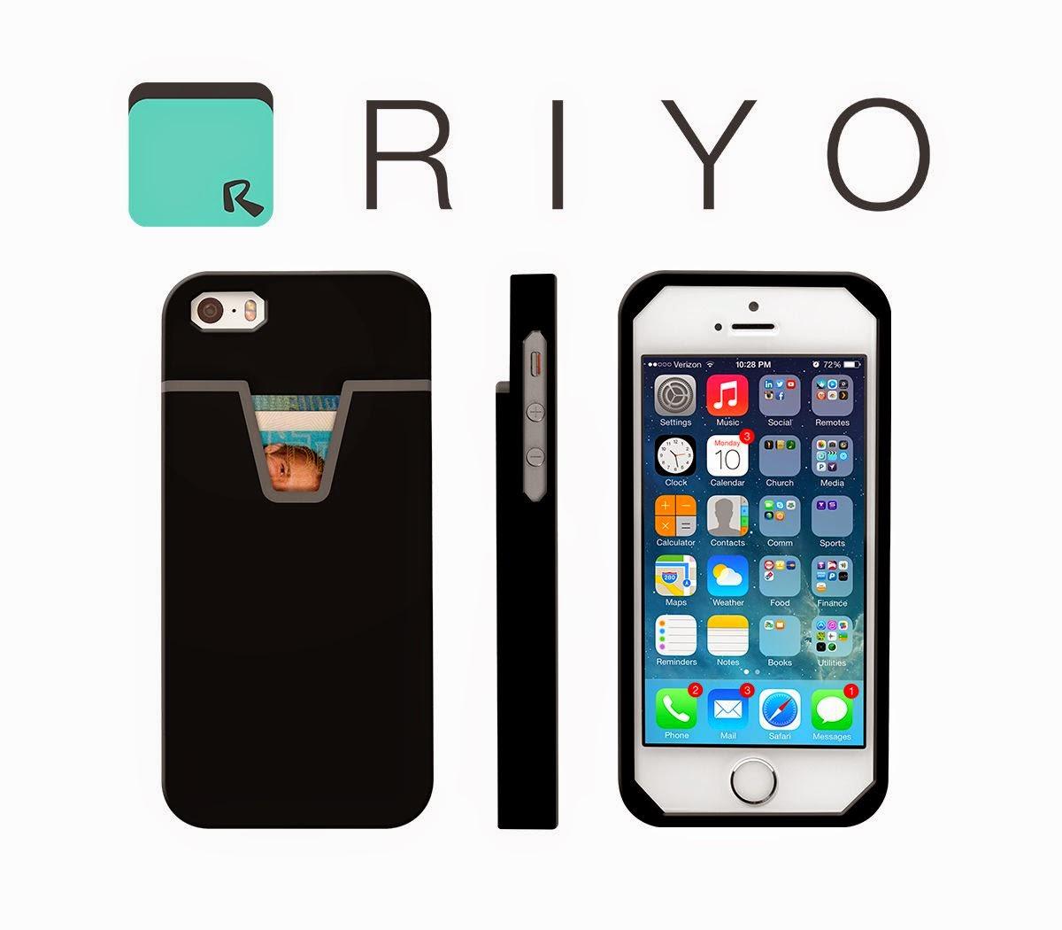 Super Minimalist Wallet Raises IQ Of Your Smartphone By RIYO Phone Case