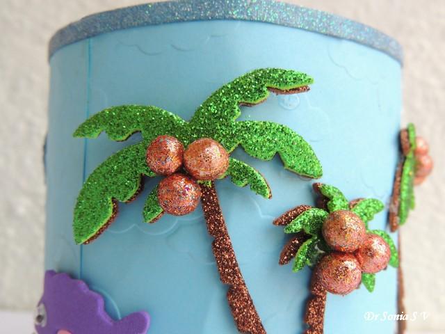 Foam Craft Palm Trees