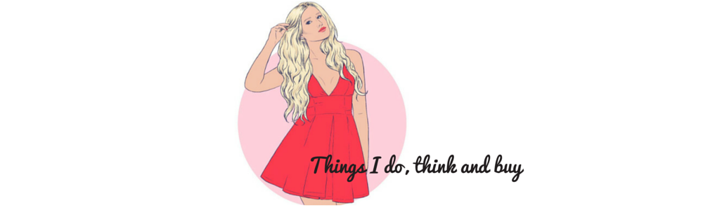 Things I do, think and buy