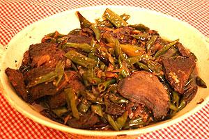 khas yaitu dendeng batokok dendeng adalah daging sapi yang di iris