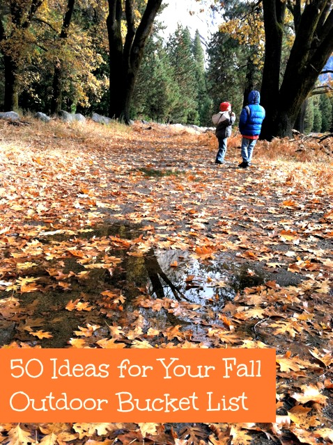 50 Ideas for Your Fall Outdoor Bucket List