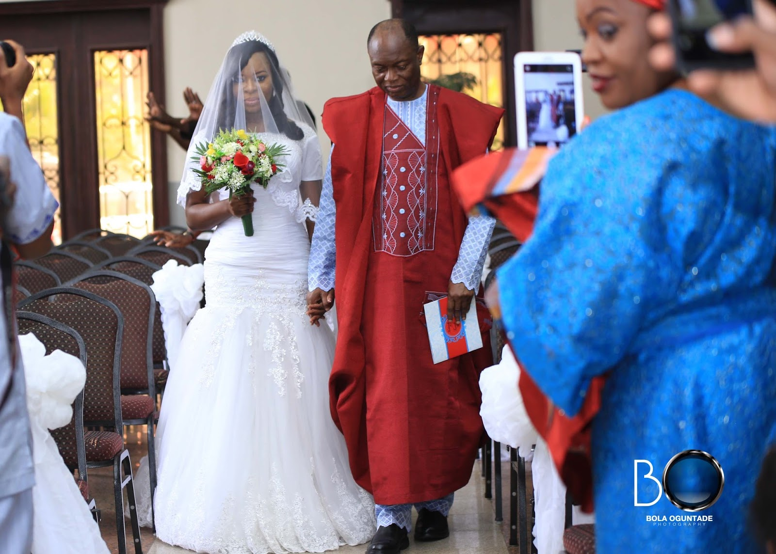 Evangelical church wedding