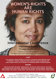 Women's Rights are Human Rights - International Conference - Empowering Women Through Secularism