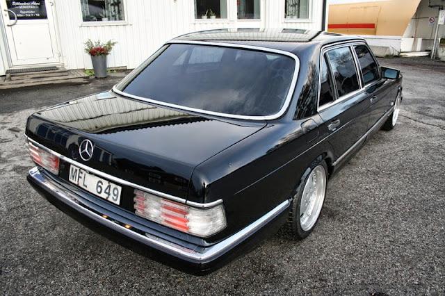 mercedes w126 black