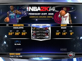 NBA 2k14 Custom Roster Update v4 : February 21st, 2015 - Heat and Hornets - Team Ratings