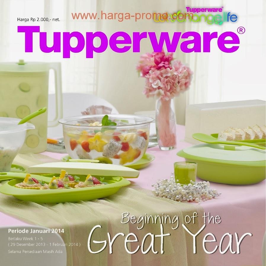 Katalog Promo TUPPERWARE JANUARI 2014