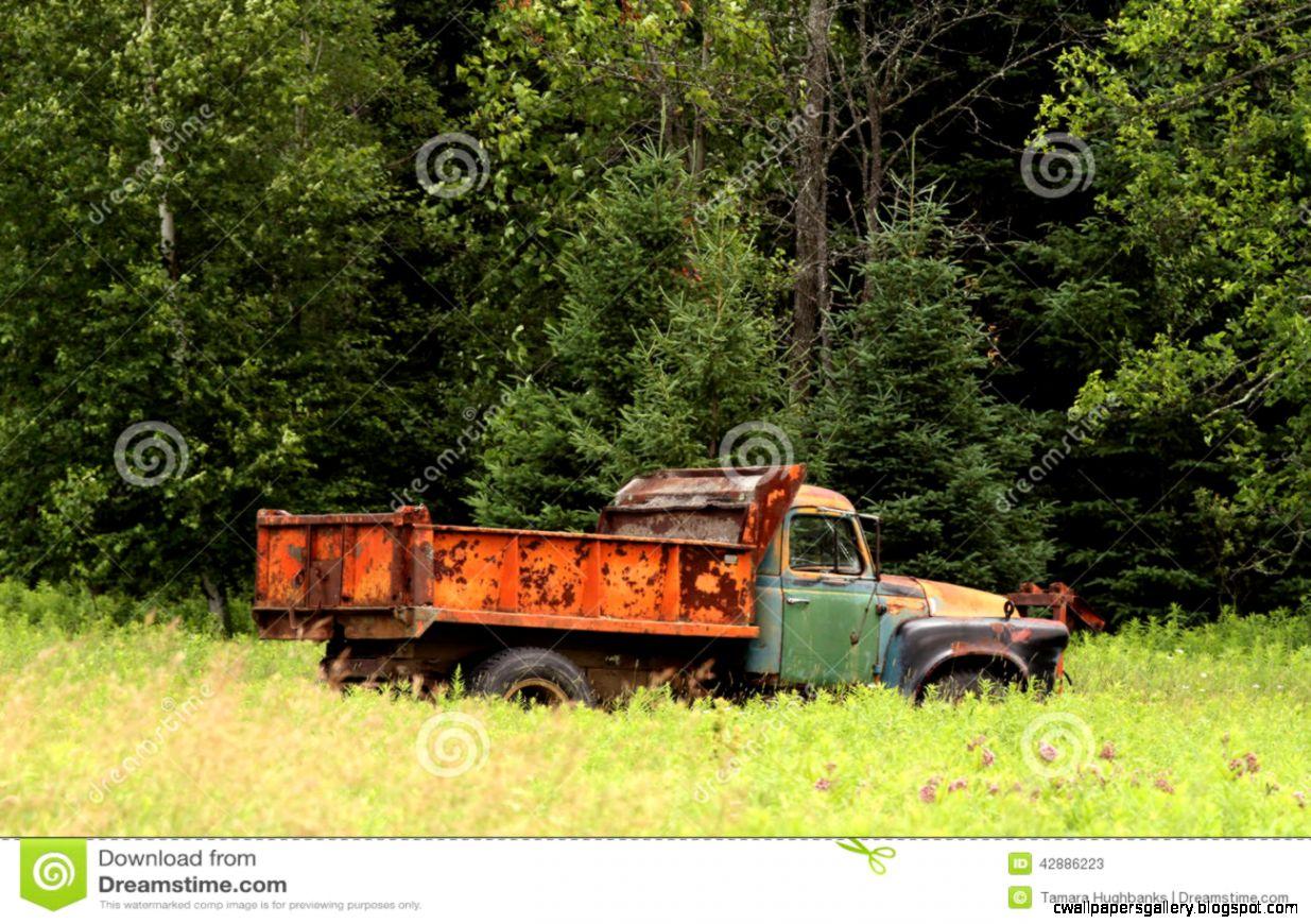 Old Rusty Farm Truck