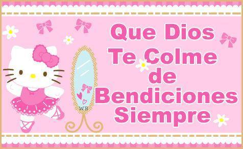 hello kitty, amistad, bendiciones