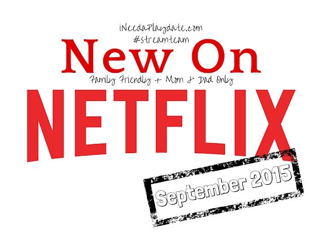 Streaming on @Netflix in September 2015 #streamteam