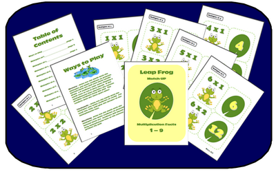 http://www.teacherspayteachers.com/Product/Leap-Frog-Multiplication-Math-Fact-Memory-Game-or-Flashcards