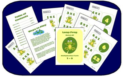 http://www.teacherspayteachers.com/Product/Leap-Frog-Multiplication-Math-Fact-Memory-Game-or-Flashcards