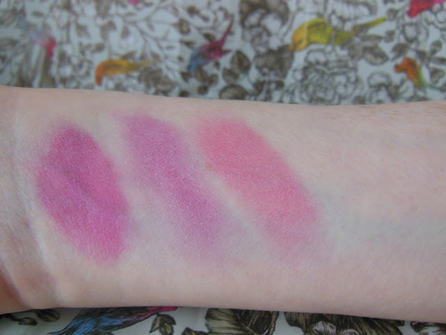 Sleek Candy Collection Sweet Cheeks blush by 3 swatches