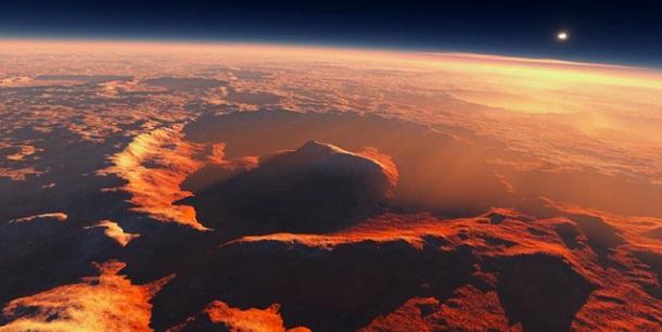 Marte teve oxigénio muito antes da Terra