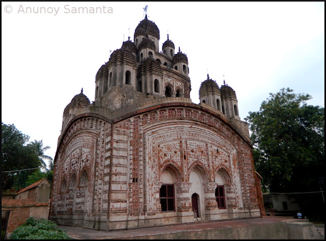 Terracotta temples of Kalna - Krishna Chandraji Temple