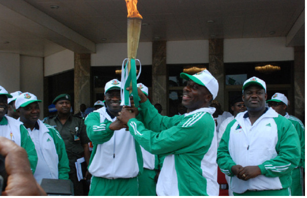 NATIONAL SPORTS FESTIVAL TORCH