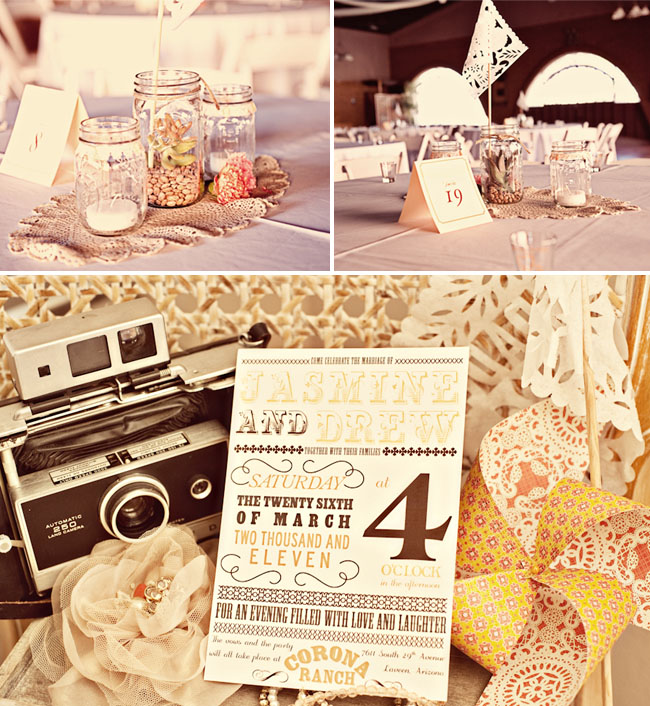 Vintage Mexican Wedding I Love The Invitations And Cake From Green Shoes