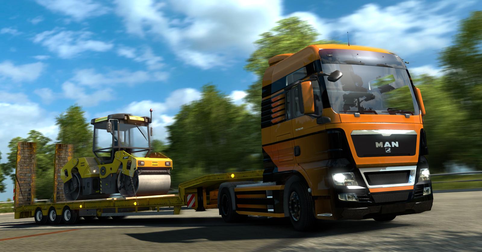 Euro truck simulator 2 mods daf xf 105 james s hislop pictures to pin - News Zum Euro Truck Simulator 2 News Vom Scs Software German Modification Team