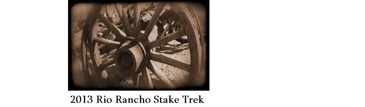 Rio Rancho Stake Trek 2013