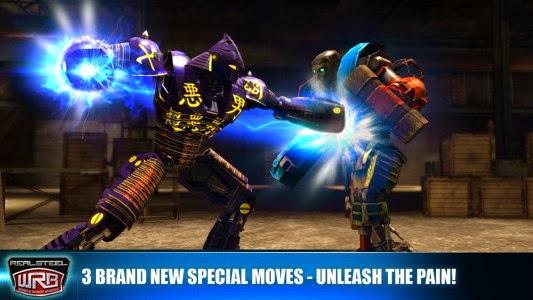 لعبة مصارعة الروبوتات للاندرويد - Real Steel Boxing APK