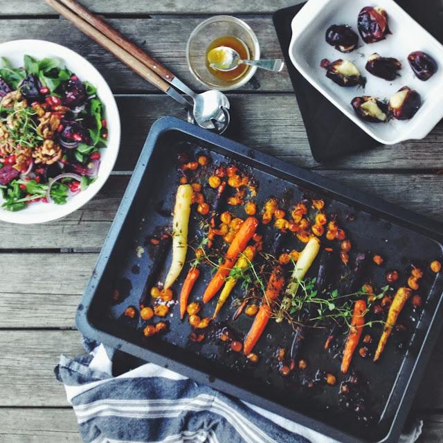Lækkert efterårsmad - vegetar - mit livs kogebog