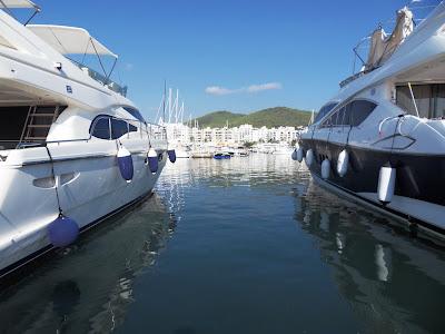 Harbour at Santa Eulalia, Ibiza