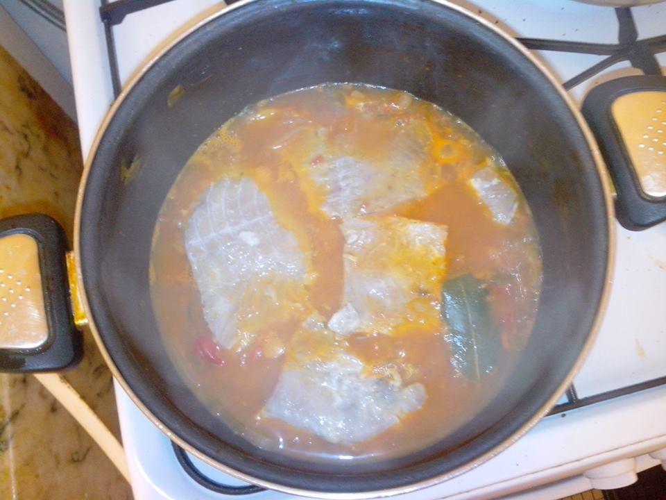 Recettes du chef le court bouillon de lieu noir est cuit - Court bouillon poisson maison ...