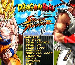 Jogo de Luta Mugen Street Fighter vs DragonBall Download
