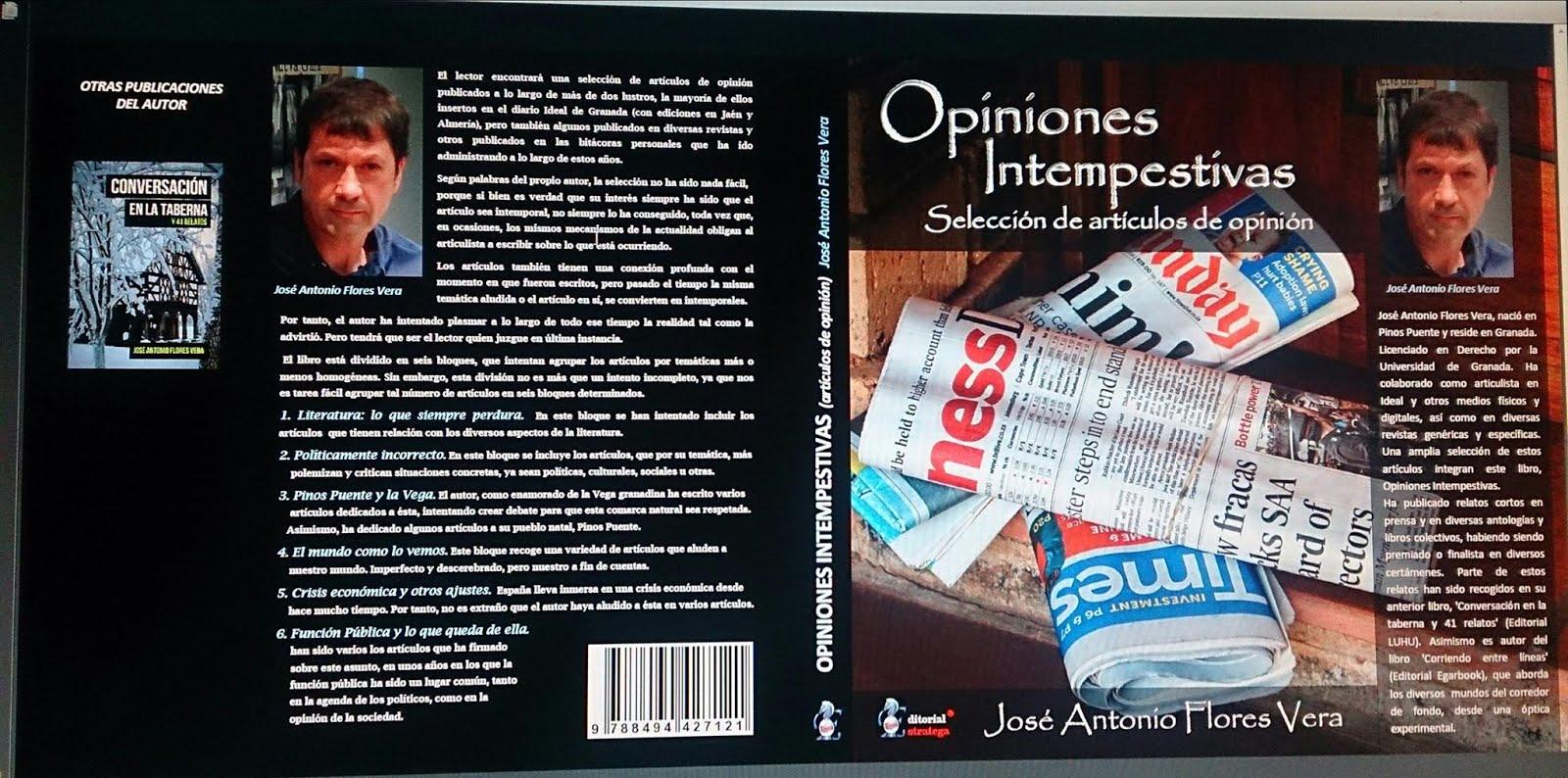 OPINIONES INTEMPESTIVAS (Versión papel)