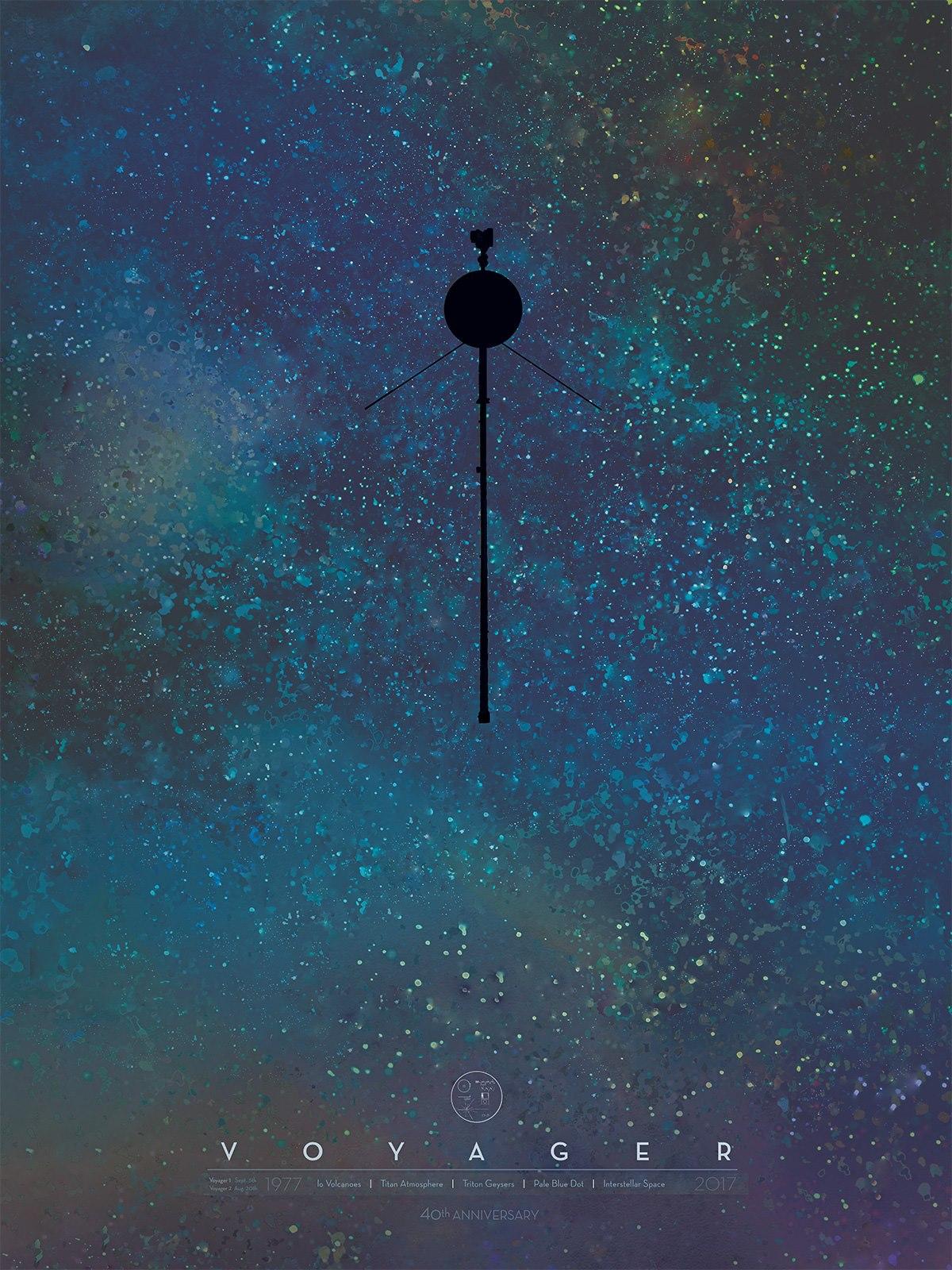5 SEPTIEMBRE Voyager 1 & 2 cumplen 40 años en el espacio
