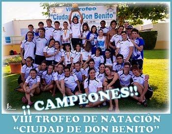 """VIII Trofeo de Natación """"Ciudad de Don Benito"""""""