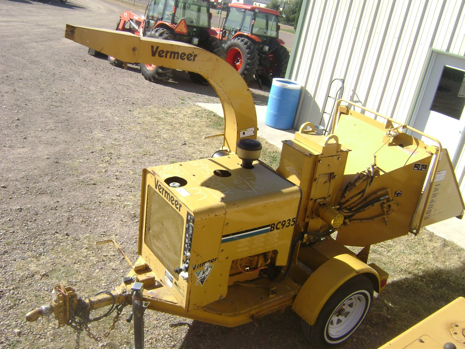 Maquinaria agricola industrial trituradora de ramas bc935 - Trituradora de ramas casera ...