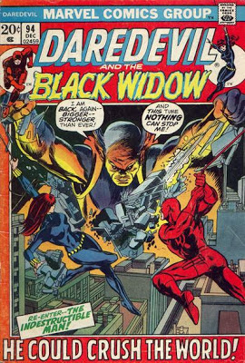 Daredevil and the Black Widow #94, the Indestructible Man