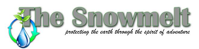 the snowmelt