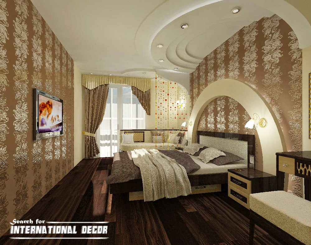 Top Ideas Neoclassical Style Interior Furniture Bedroom False Ceiling Classic