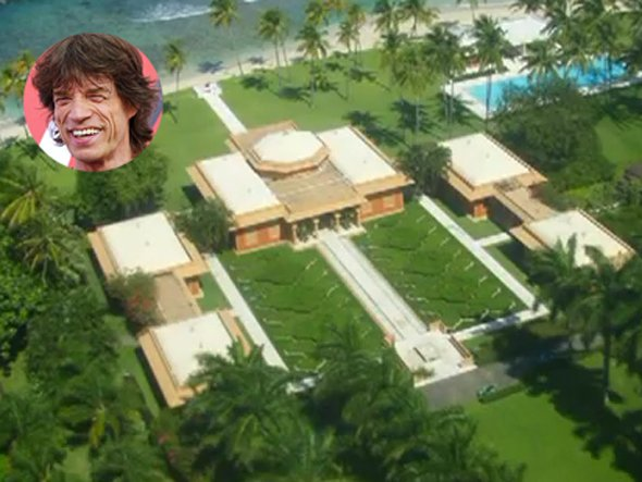Mick jagger house