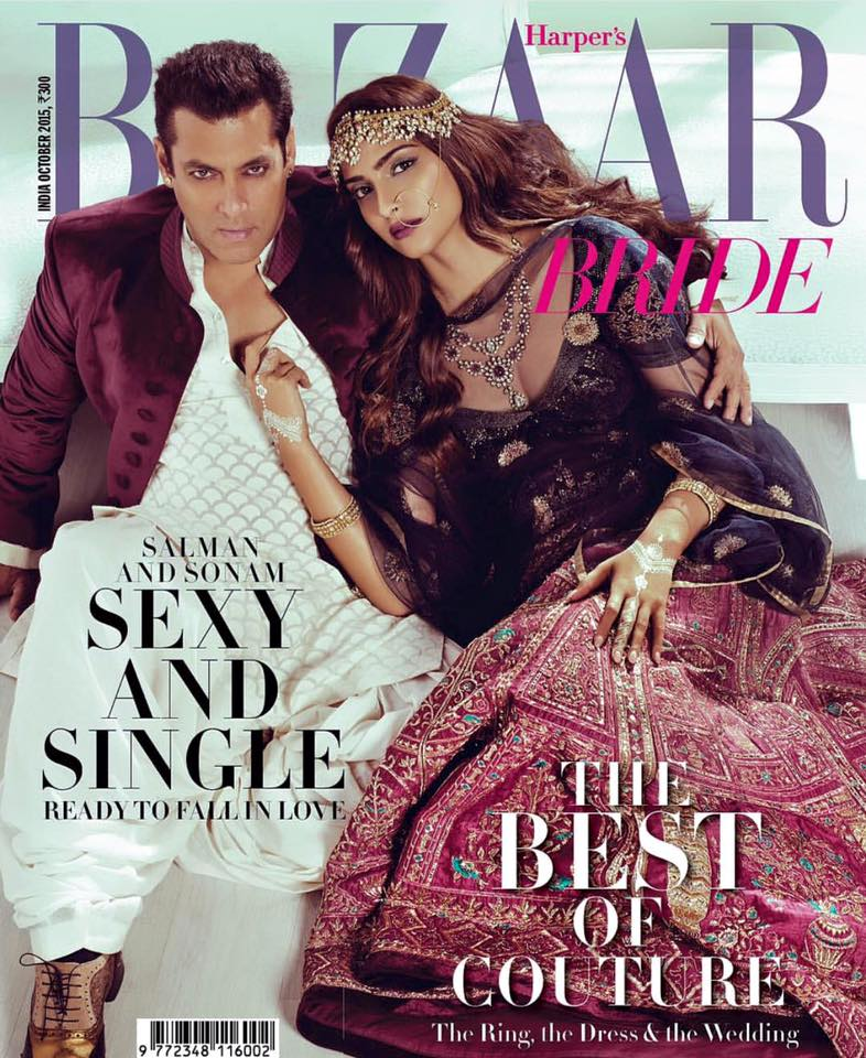 Sonam Kapoor With Salman Khan Photoshoot HD