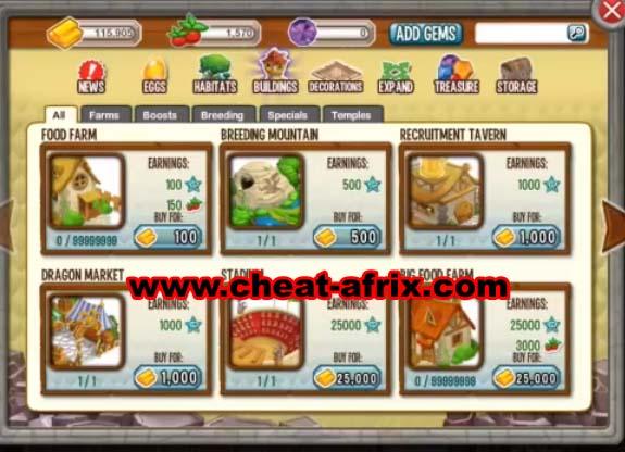 Cheat Dragon City 2013 Update - cheat-afrix: Free Cheat Game, Download ...