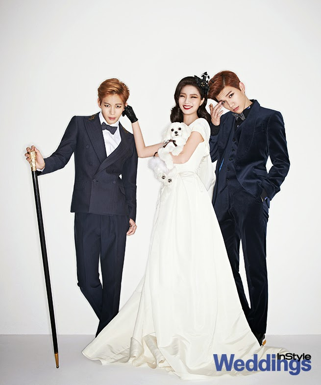 Ahn Young Mi VIXX - InStyle Weddings Magazine April Issue 2014